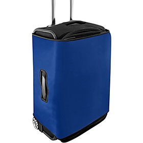 Large Luggage Cover - Solids Blue
