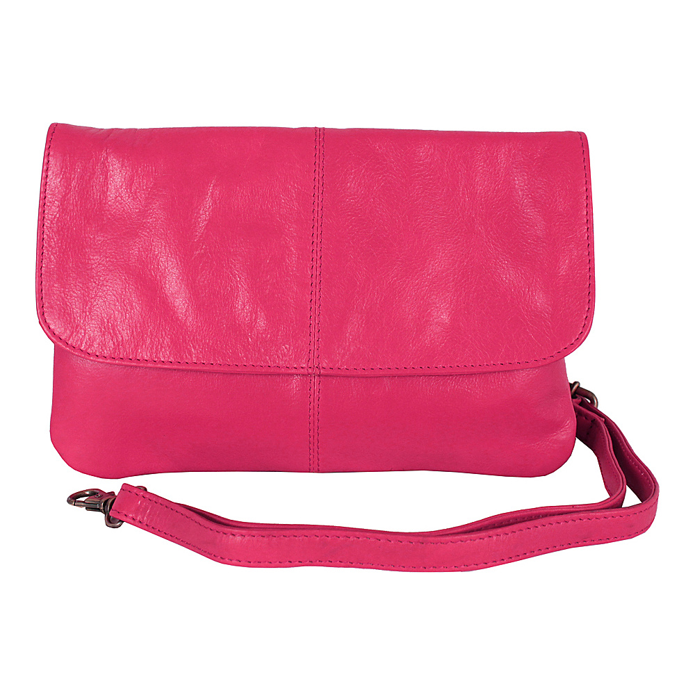 Latico Leathers Lidia Fuchsia - Latico Leathers Leather Handbags - Handbags, Leather Handbags