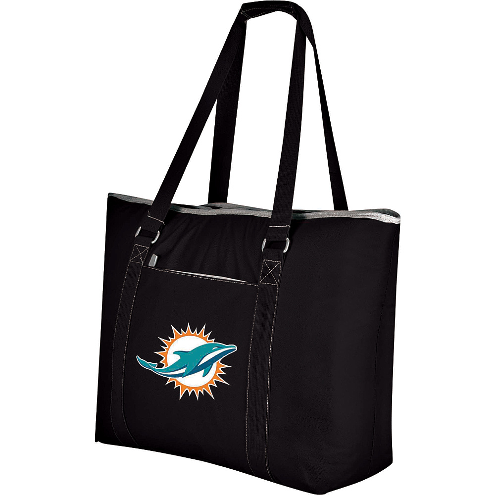 Picnic Time Miami Dolphins Tahoe Cooler Miami Dolphins Black - Picnic Time Outdoor Coolers - Outdoor, Outdoor Coolers