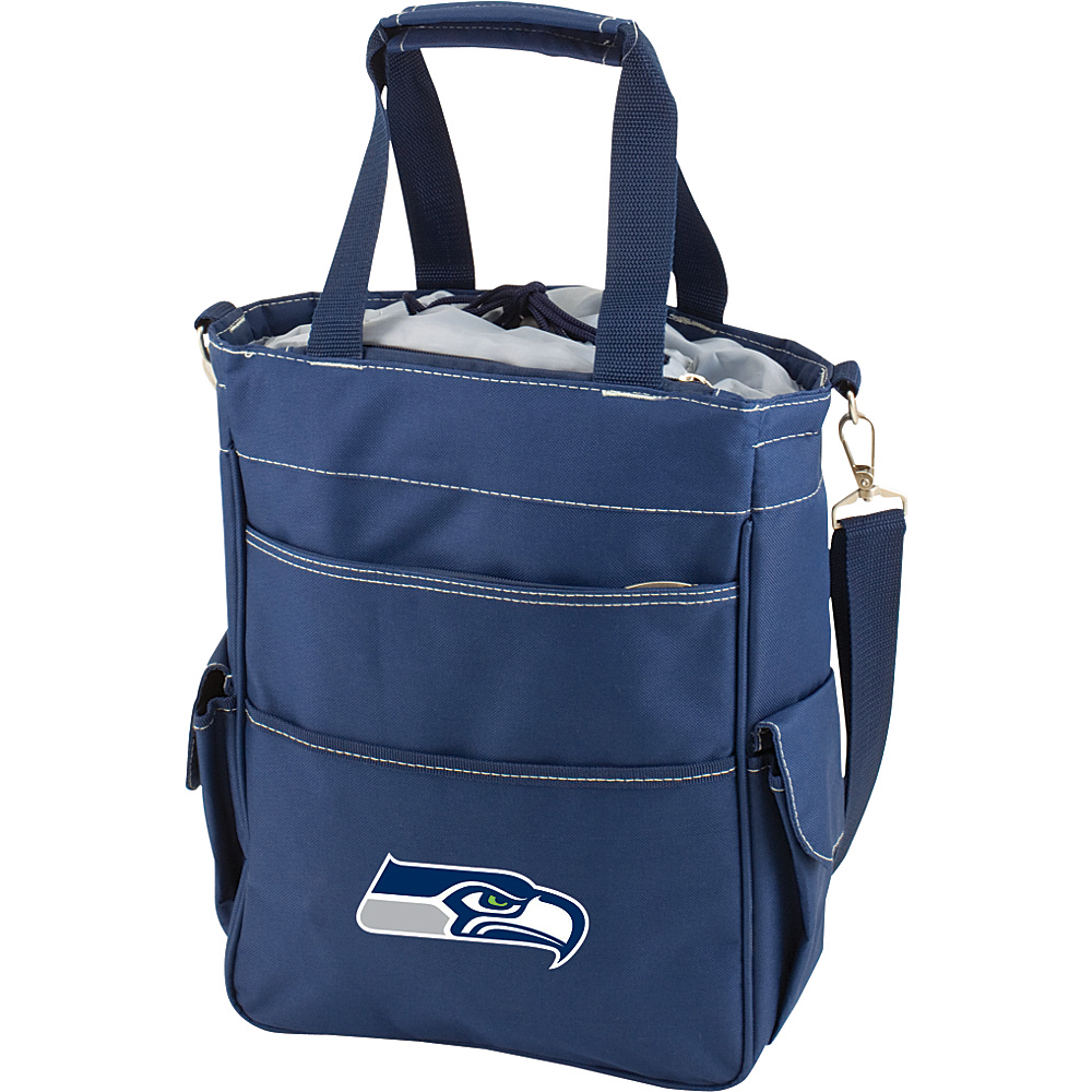 Picnic Time Seattle Seahawks Activo Cooler Seattle Seahawks Navy - Picnic Time Outdoor Coolers - Outdoor, Outdoor Coolers