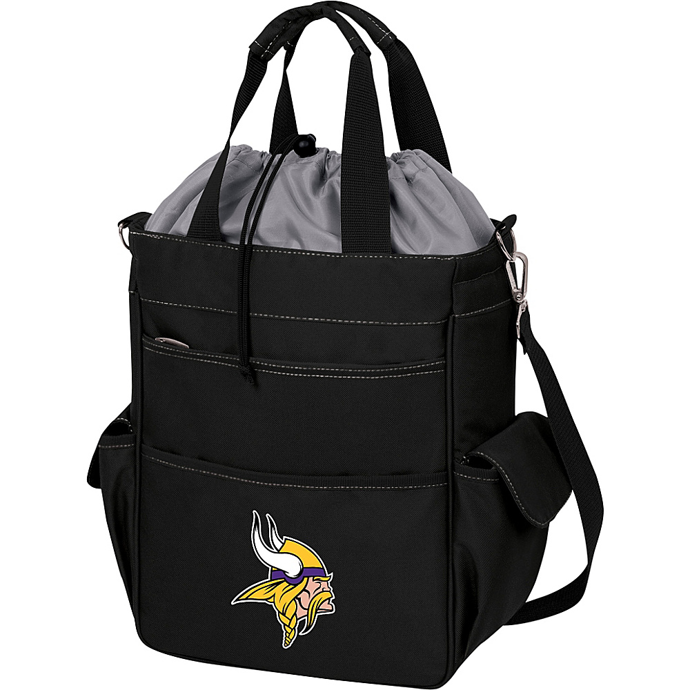 Picnic Time Minnesota Vikings Activo Cooler Minnesota Vikings Black - Picnic Time Outdoor Coolers - Outdoor, Outdoor Coolers