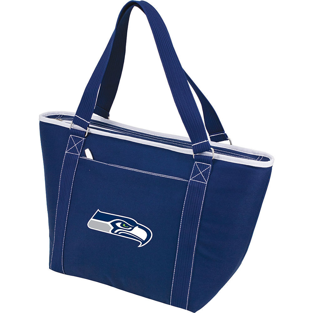 Picnic Time Seattle Seahawks Topanga Cooler Seattle Seahawks Navy - Picnic Time Outdoor Coolers - Outdoor, Outdoor Coolers