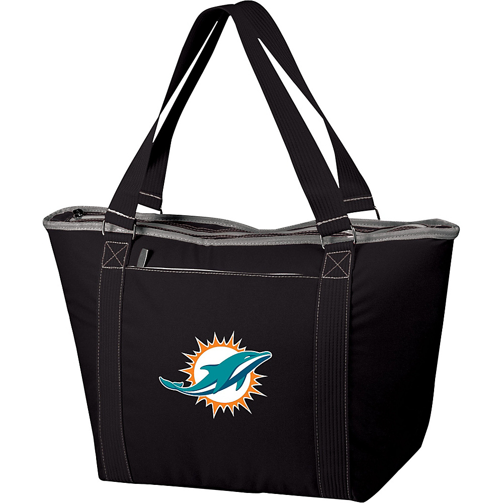 Picnic Time Miami Dolphins Topanga Cooler Miami Dolphins Black - Picnic Time Outdoor Coolers - Outdoor, Outdoor Coolers
