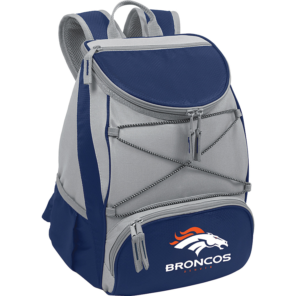 Picnic Time Denver Broncos PTX Cooler Denver Broncos Navy - Picnic Time Outdoor Coolers - Outdoor, Outdoor Coolers