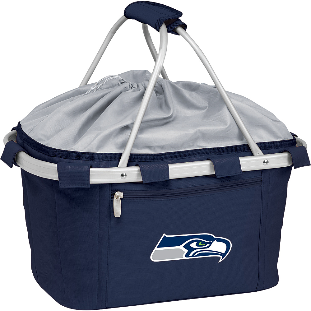 Picnic Time Seattle Seahawks Metro Basket Seattle Seahawks Navy - Picnic Time Outdoor Coolers - Outdoor, Outdoor Coolers