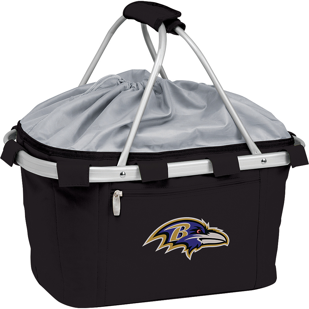 Picnic Time Baltimore Ravens Metro Basket Baltimore Ravens Black - Picnic Time Outdoor Coolers - Outdoor, Outdoor Coolers