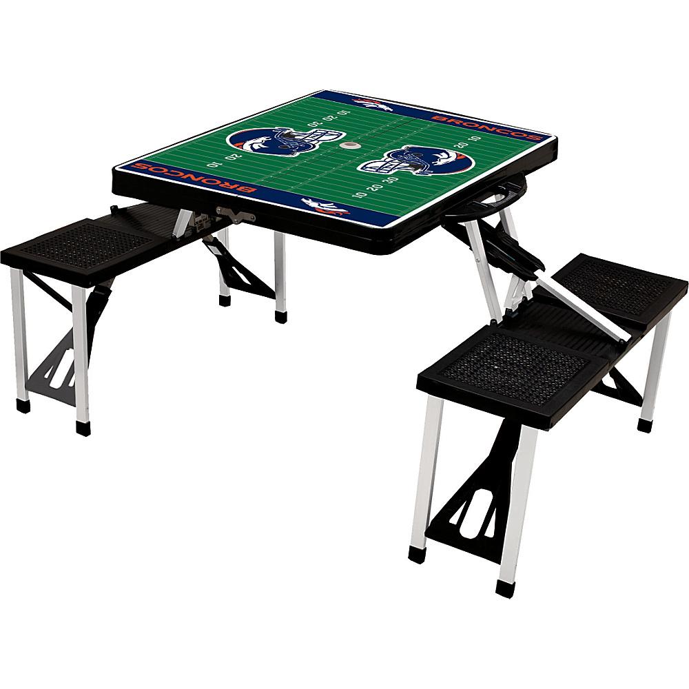 Picnic Time Denver Broncos Picnic Table Sport Denver Broncos Black - Picnic Time Outdoor Accessories - Outdoor, Outdoor Accessories
