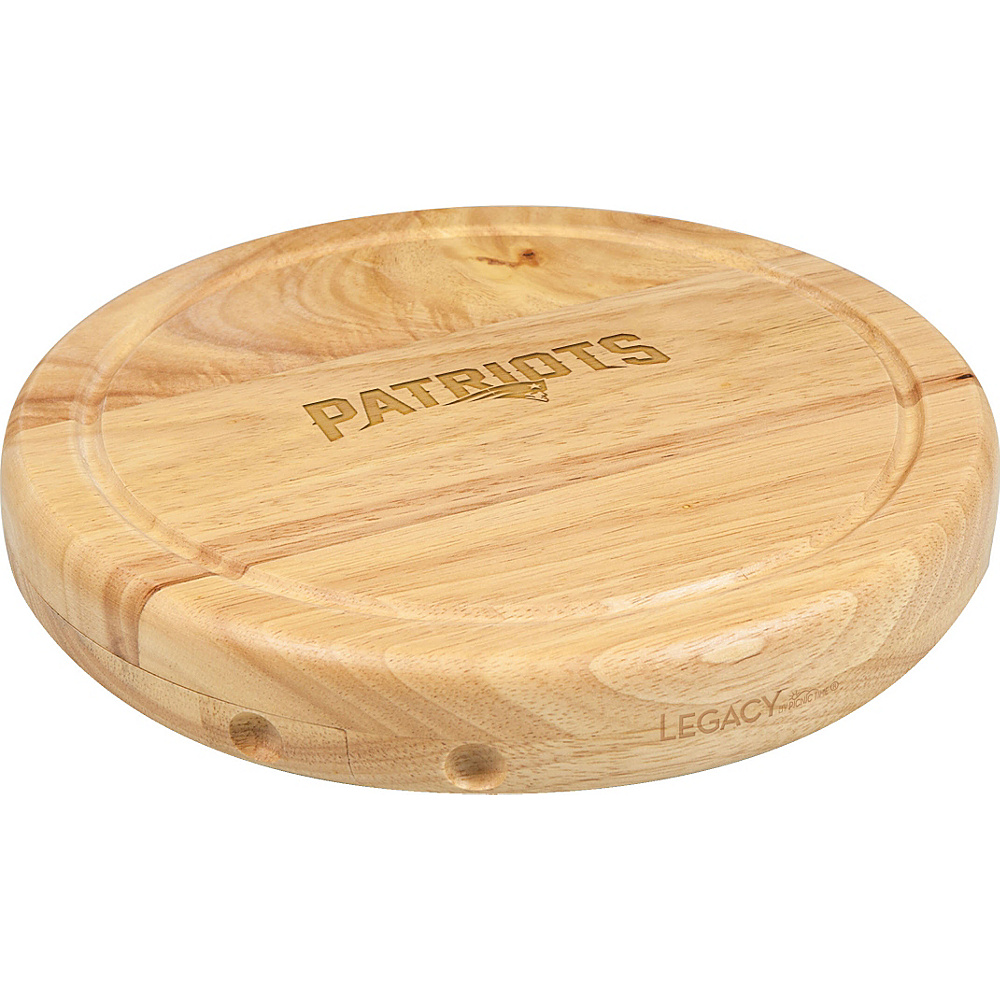 Picnic Time New England Patriots Cheese Board Set New England Patriots - Picnic Time Outdoor Accessories - Outdoor, Outdoor Accessories