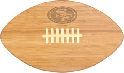Picnic Time San Francisco 49ers Touchdown Pro! Cutting Board San Francisco 49ers - Picnic Time Outdoor Accessories