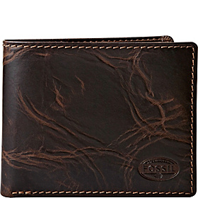 Norton L-Zip Bifold Wallet Brown