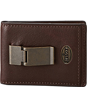 Estate ID Bifold Front Pocket Wallet Dark Brown