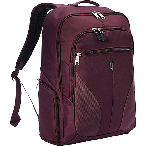 eBags eTech 2.0 Downloader Laptop Backpack Plum - eBags Laptop Backpacks