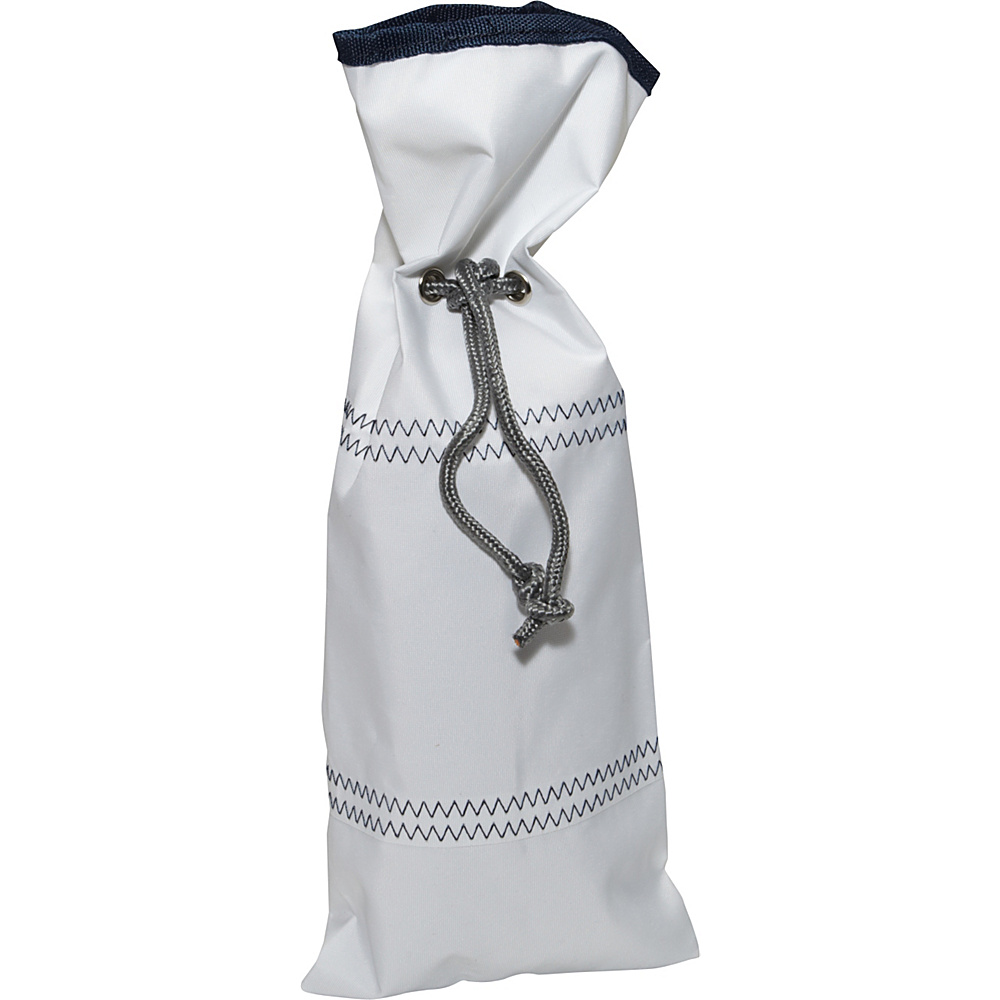 SailorBags Sailcloth Wine Bag White SailorBags Outdoor Accessories