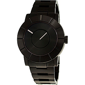 To: Automatic Mens Watch Black Dial