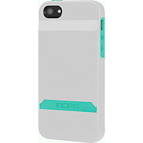 Stashback for iPhone 5 Optical White/ Navajo Turquoise