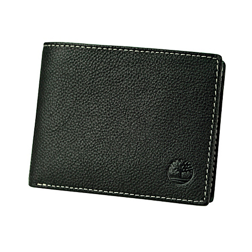 Timberland Wallets Beckwourth Leather Passcase Wallet Black - Timberland Wallets Mens Wallets