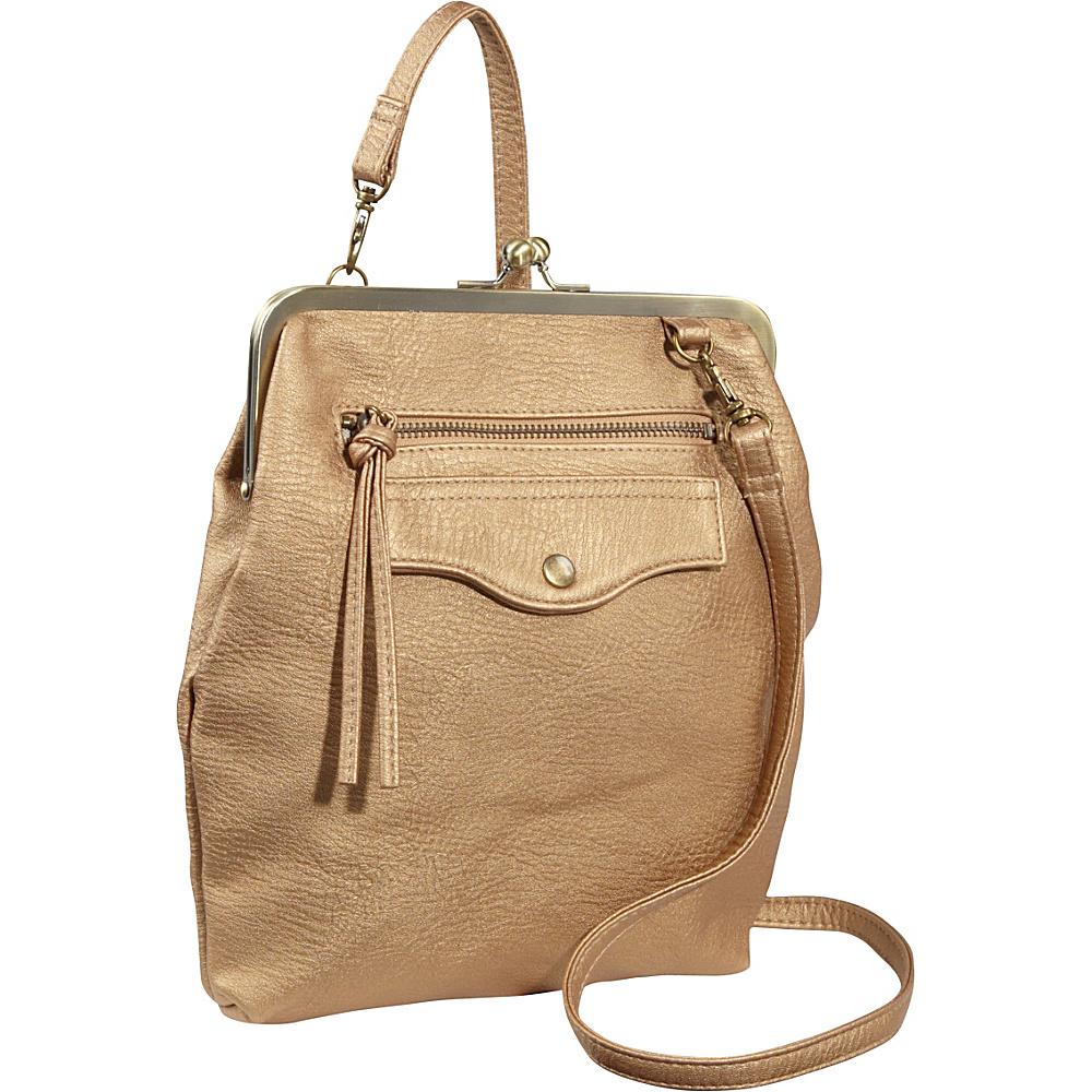 TOKYObay Diana Frame Purse Gold - TOKYObay Manmade Handbags