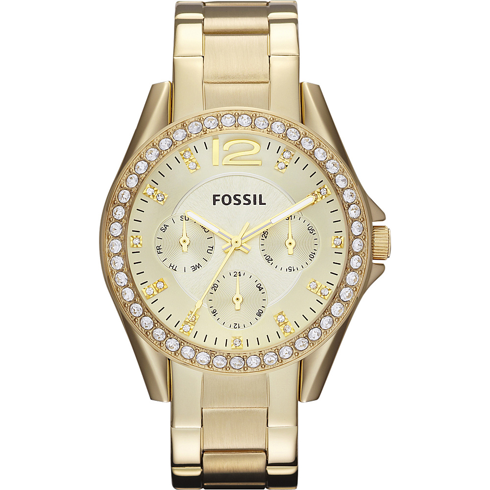 Fossil Riley Gold - Fossil Watches - Fashion Accessories, Watches