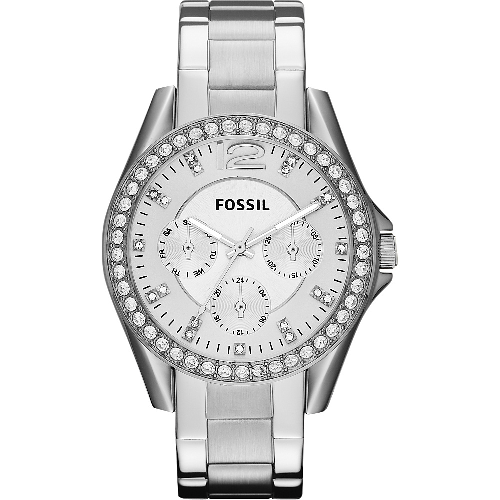 Fossil Riley Silver - Fossil Watches - Fashion Accessories, Watches