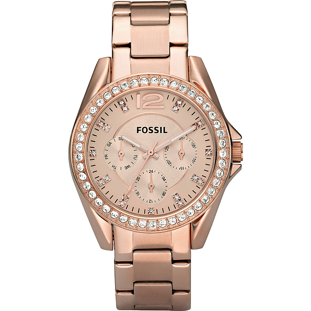 Fossil Riley Rose Gold Fossil Watches
