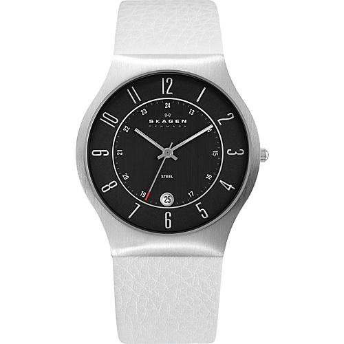Skagen White Label White with Black - Skagen Watches (10223669 233XXLSLW-White) photo