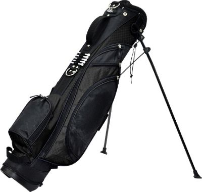 RJ Golf Typhoon Stand Bag Black - RJ Golf Golf Bags