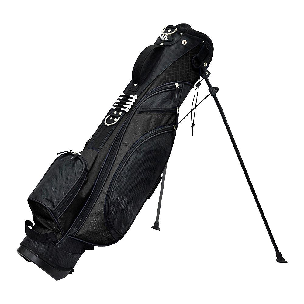 RJ Golf Typhoon Stand Bag- Blue Royal Black - RJ Golf Golf Bags