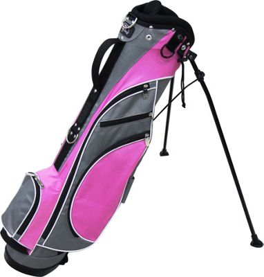 RJ Golf Typhoon Stand Bag Grey/Pink - RJ Golf Golf Bags