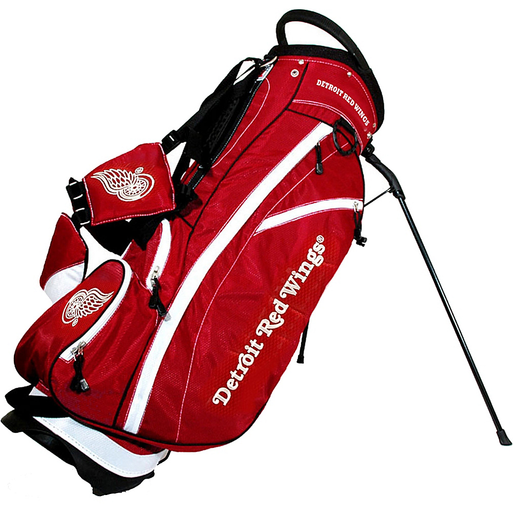 Team Golf USA NHL Detroit Red Wings Fairway Stand Bag Red - Team Golf USA Golf Bags