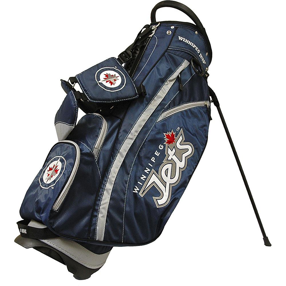 Team Golf USA NHL Winnipeg Jets Fairway Stand Bag Navy - Team Golf USA Golf Bags