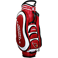 Team Golf NFL Arizona Cardinals Medalist Cart Bag Red - Team Golf Golf Bags