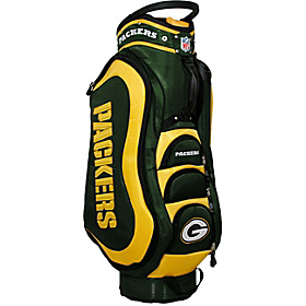 NFL Green Bay Packers Medalist Cart Bag Green
