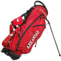 Team Golf NCAA University of Arkansas Razorbacks Fairway Stand Bag Red - Team Golf Golf Bags