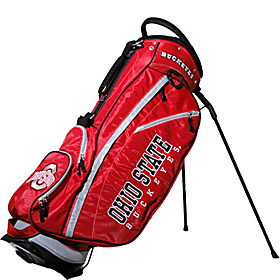 NCAA Ohio State University Buckeyes Fairway Stand Bag Red
