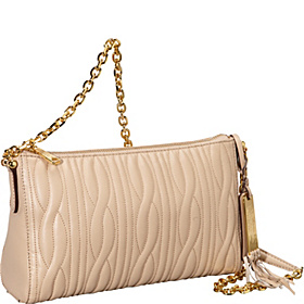 Banbury Quilted Chain Shoulder Bag Adobe