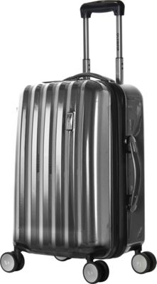 Olympia USA Titan Hardside 21 inch Carry-on Spinner Black - Olympia USA Hardside Carry-On