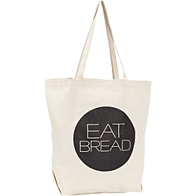Eat Bread Tote Tan