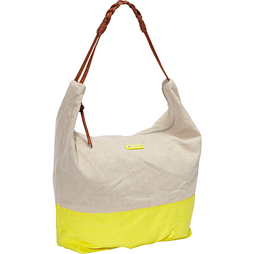 Roxy Meadow Shoulder Bag Acid Yellow - Roxy Fabric Handbags