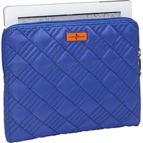 Crosby Nylon Zip Around Tablet Case Cobalt/Corporate Orange