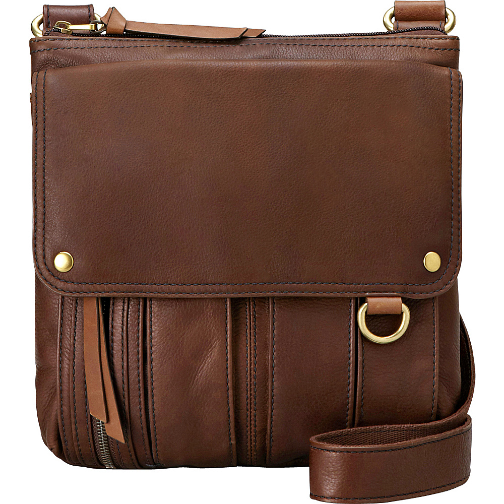 Leather Fossil The Most Competitive Prices For Handbags Bags Dawson Satchel Espresso Morgan Traveler