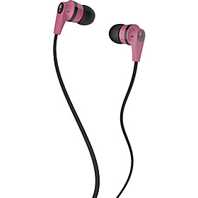 Ink'd 2.0 Earbuds Pink/ Black