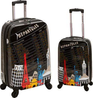 Rockland Luggage Traveler 2 Piece Hardside Luggage Set Departure - Rockland Luggage Luggage Sets