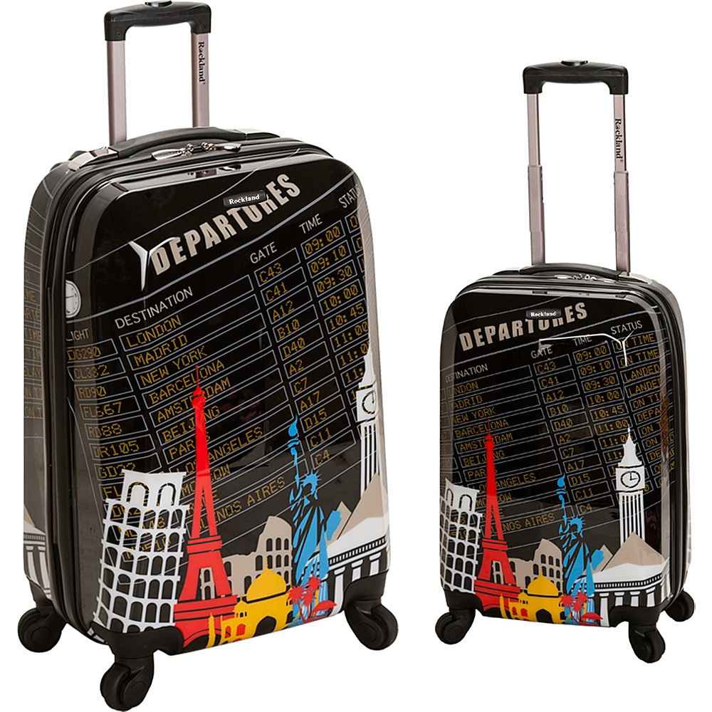 Rockland Luggage Traveler 2 Piece Hardside Luggage Set Departure - Rockland Luggage Luggage Sets
