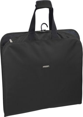 Wally Bags 45 inch Slim Garment Bag Black - Wally Bags Garment Bags