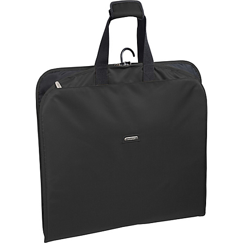 "Wally Bags 45"" Slim Garment Bag Black - Wally Bags Garment Bags"