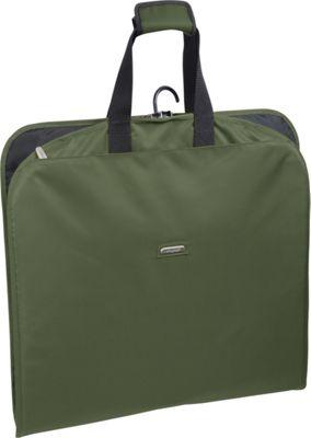 Wally Bags 45 inch Slim Garment Bag Olive - Wally Bags Garment Bags
