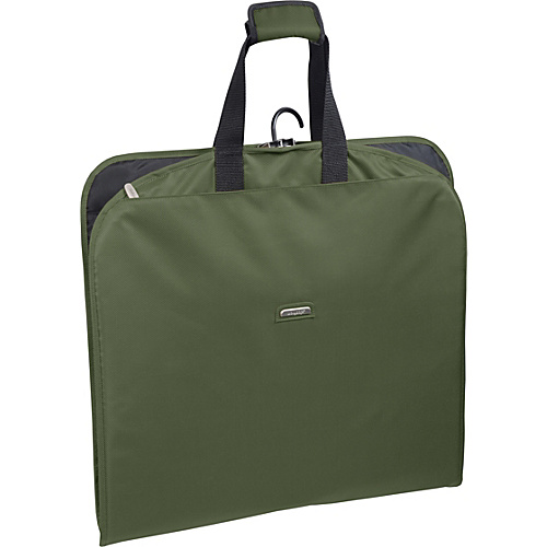 "Wally Bags 45"" Slim Garment Bag Olive - Wally Bags Garment Bags"