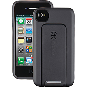 iPhone 4 / 4s Smartflex View Case Black/Dark Grey