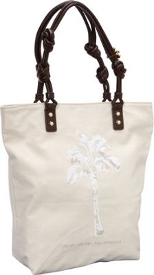 Juicy Couture Sequin Palm Tote Natural - Juicy Couture Designer Handbags