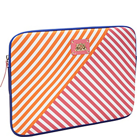 Multi Stripe Laptop Case 13'' Passion Pink